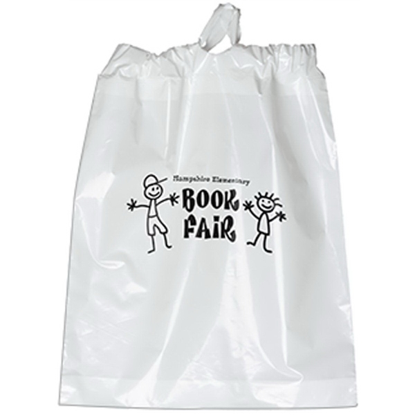 Poly Draw Bag-15 X 19 X 3