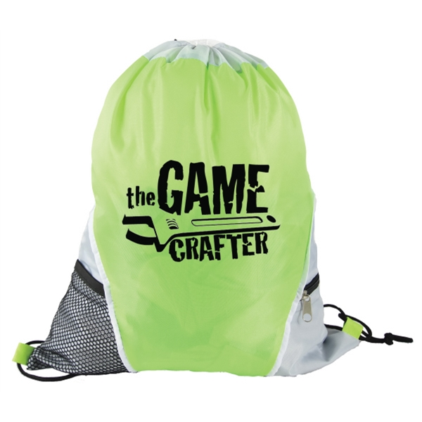 Bottle Holder zipper pocket sports bag