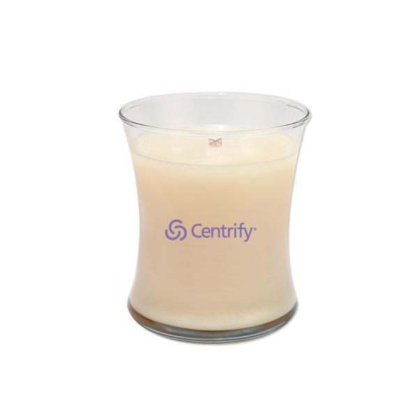 Woodwick (R) Medium Jar Candle - Vanilla Bean
