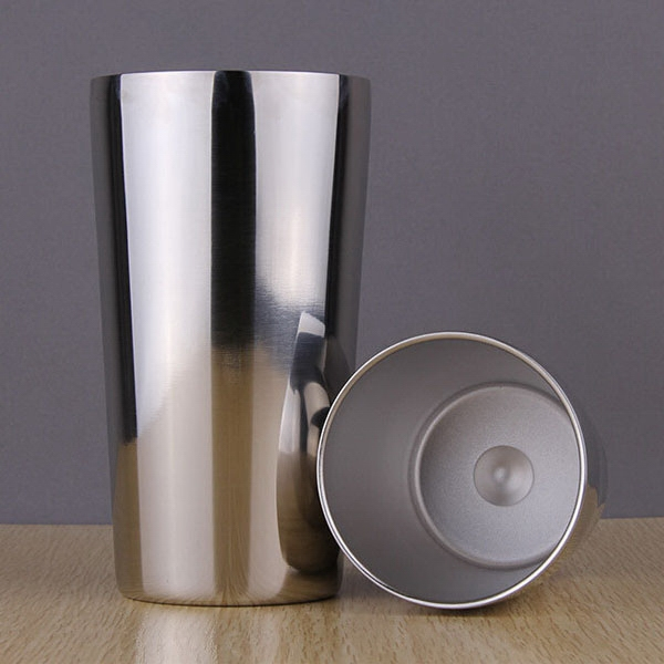 Double Wall Air Insulated Beer Mug