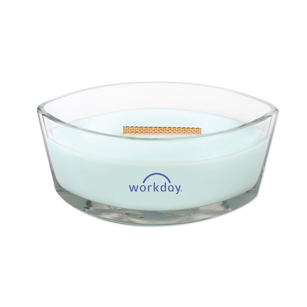 Woodwick (R) Ellipse Jar Candle - Pure Comfort