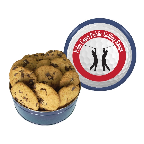 The Royal Tin With Chocolate Chip Cookies - Bakery Items