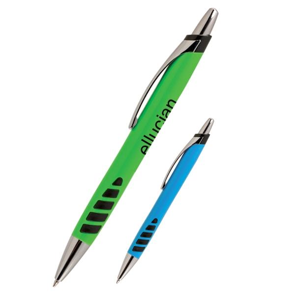 Arco Pen - Push action pen with textured ergonomic grip