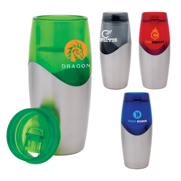 Perka 16 oz. Steel & AS Tumbler