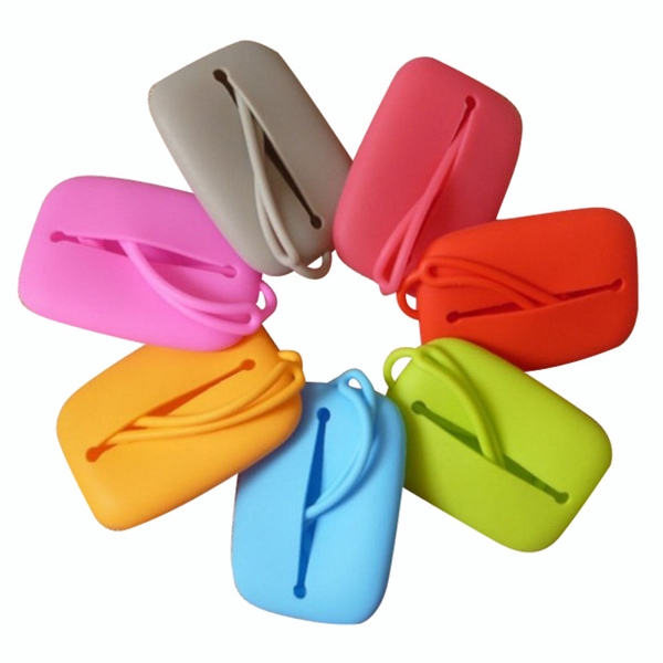 Portable Silicone Key Case