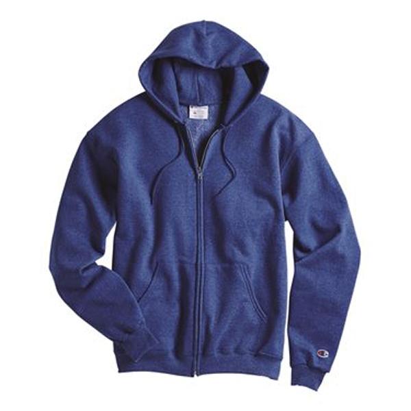 Champion Double Dry Eco® Full-Zip Hooded Sweatshirt