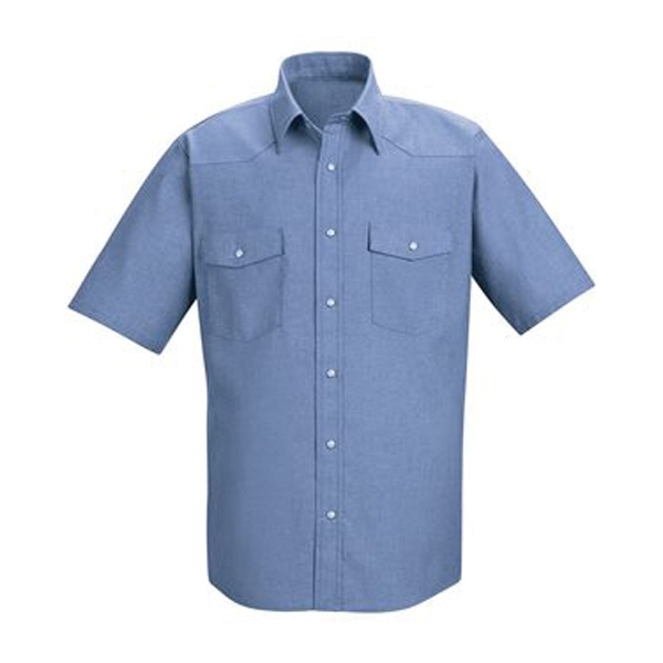 Red Kap Deluxe Western Style Short Sleeve Shirt