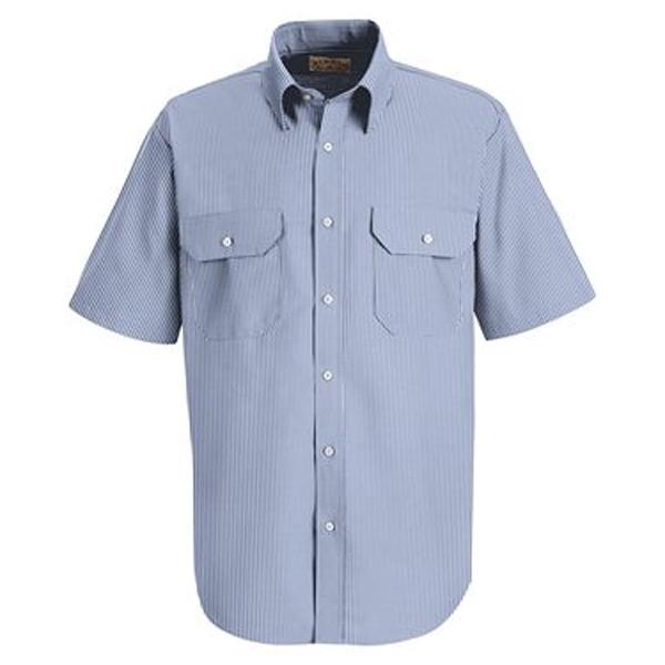 Red Kap Deluxe Short Sleeve Uniform Shirt
