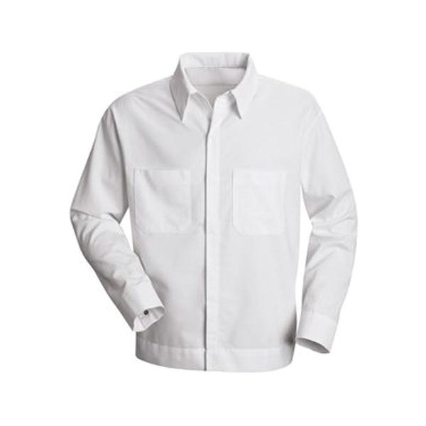 Red Kap Button-Front Shirt Jacket