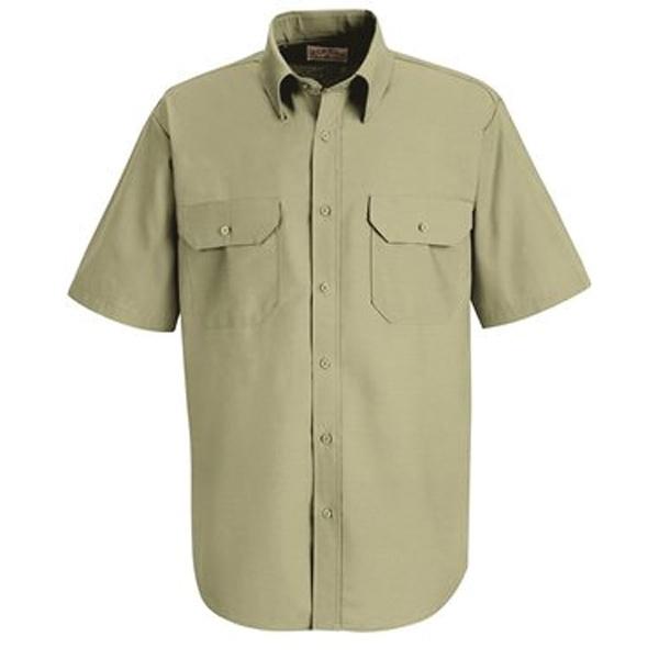 Red Kap Dress Uniform Short Sleeve Shirt