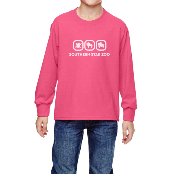 Fruit of the Loom (R) Youth HD (R) Long-Sleeve T-Shirt