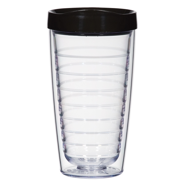 Hydro 16 oz. double wall tumbler with lid