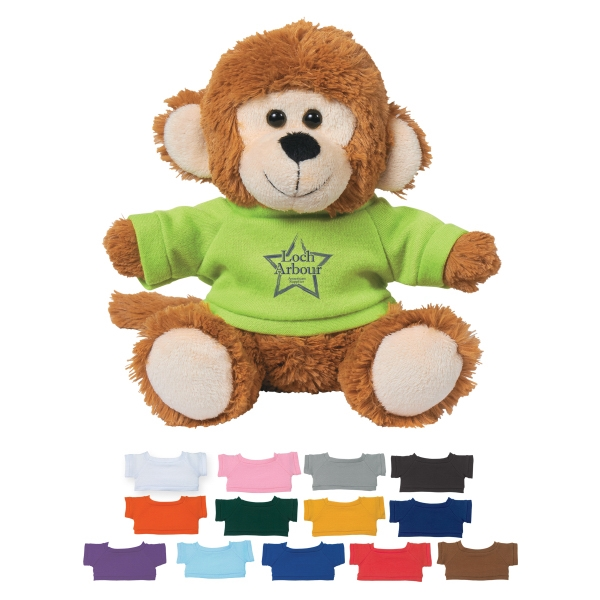 "6"" Marvelous Monkey With Shirt"
