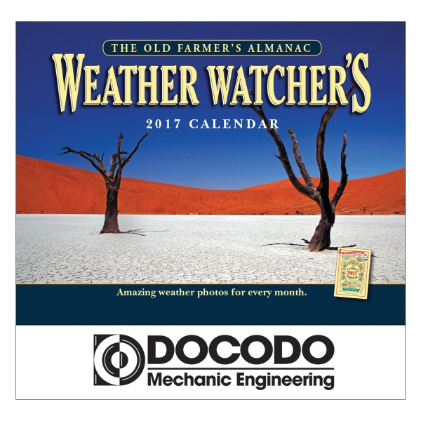 2018 The Old Farmer's Almanac Weather Wall Calendar Stapled