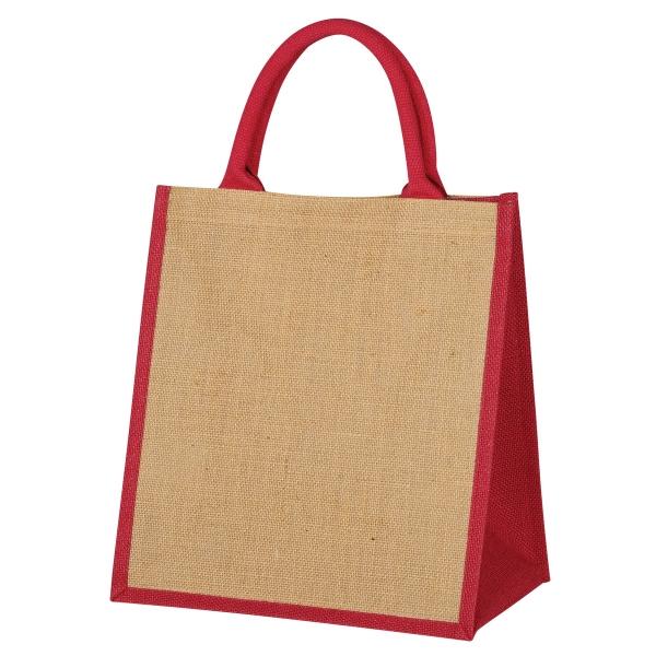 Escape Jute Tote Bag