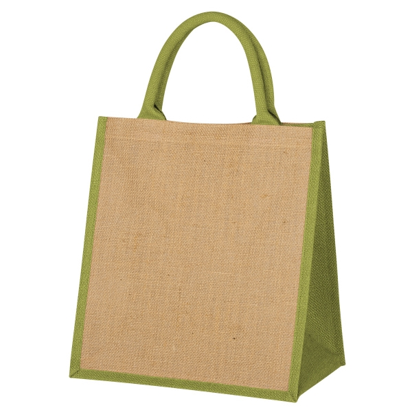 Escape Jute Tote Bag