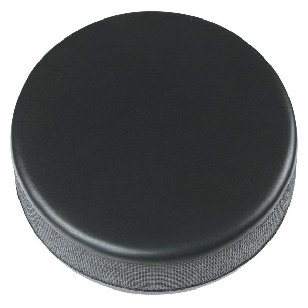 Hockey Puck Shape Stress Reliever