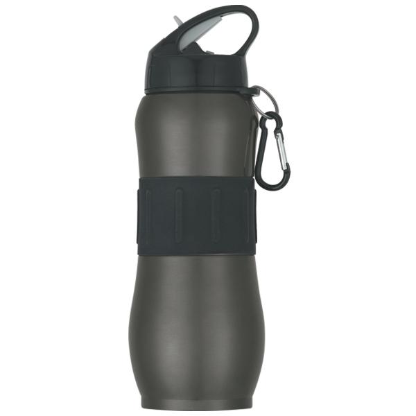 28 Oz Stainless Steel Sport Grip Bottle