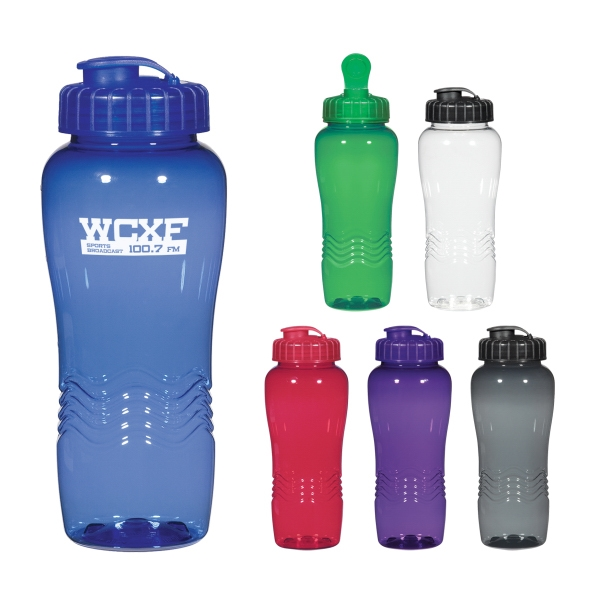 Poly-Clean 26 Oz. Wave Bottle