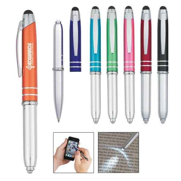 Ballpoint Stylus Pen with Light