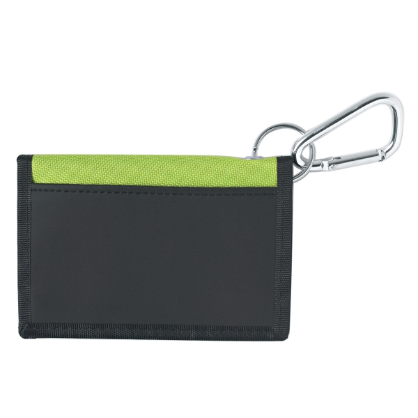 Wallet With Carabiner