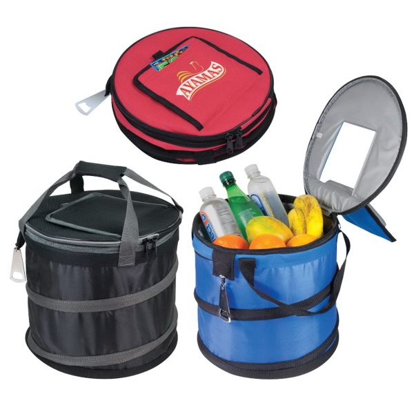 600 Denier Polyester Jumbo Collapsible Cooler