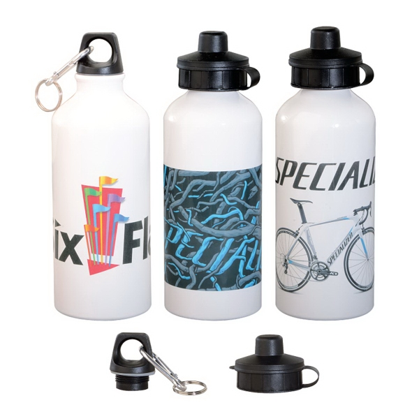 20 oz. Aluminum Water Bottle w/Full Color Sublimation