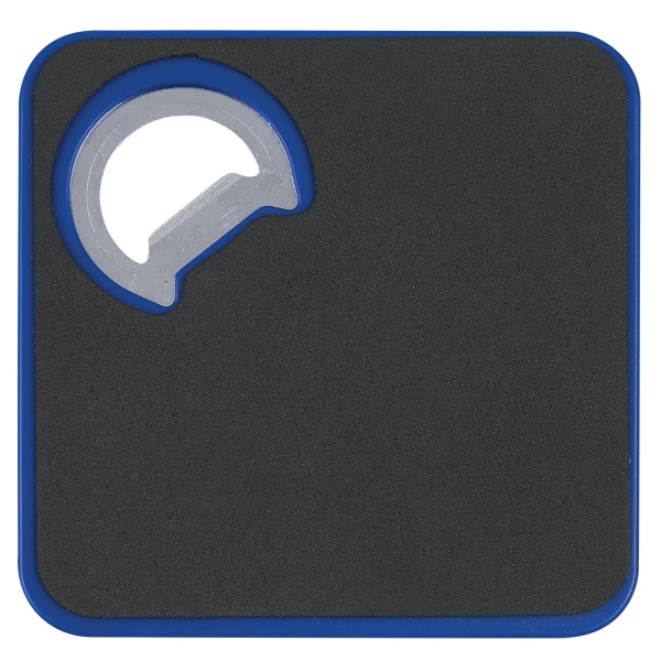Square Coaster With Bottle Opener