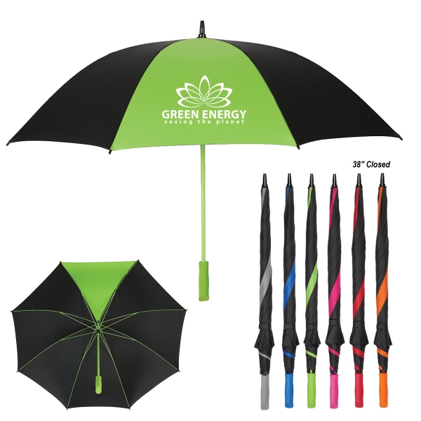 "60"" Arc Splash of Color Golf Umbrella"