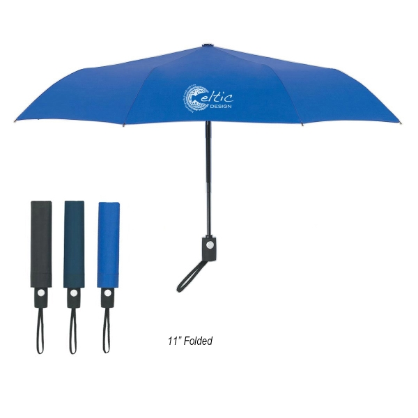 "43"" Arc Telescope Folding Automatic Open And Close Umbrella"