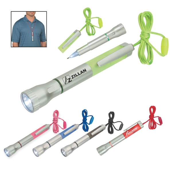 Flashlight With Light Up Pen