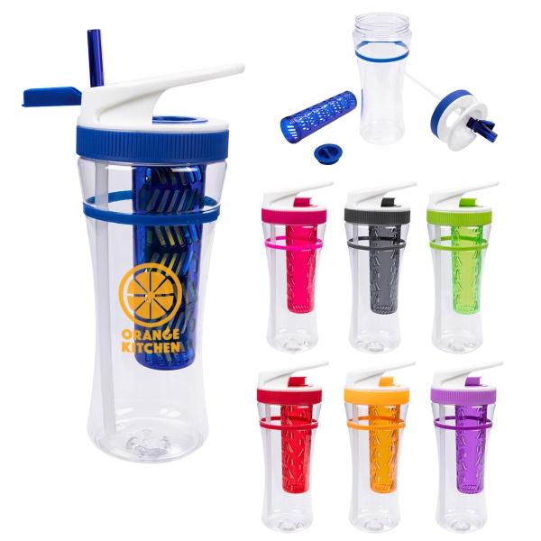 30 Oz. Tritan (TM) Flavor Blast Infuser Bottle