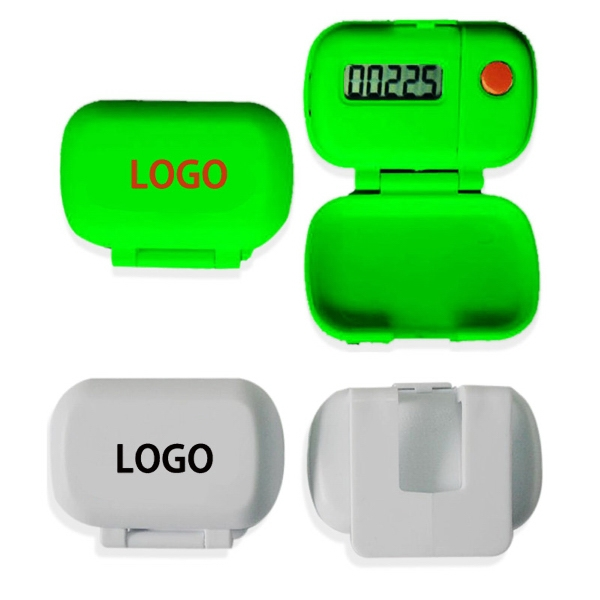 Step Counter Pedometer With Cover