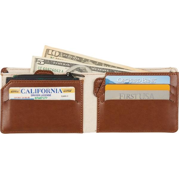 Mea Huna Cotton Bi-Fold Travel Wallet