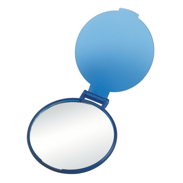 "Compact Mirror - Round compact mirror, 2 1/4"" diameter."
