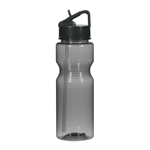 26 Oz. Tritan Ring Around The Bottle With Straw