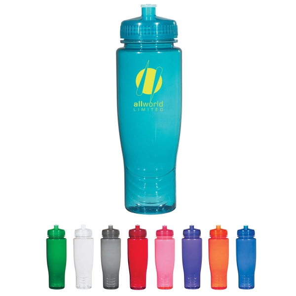Poly-Clean (TM) 28 oz. Plastic Bottle