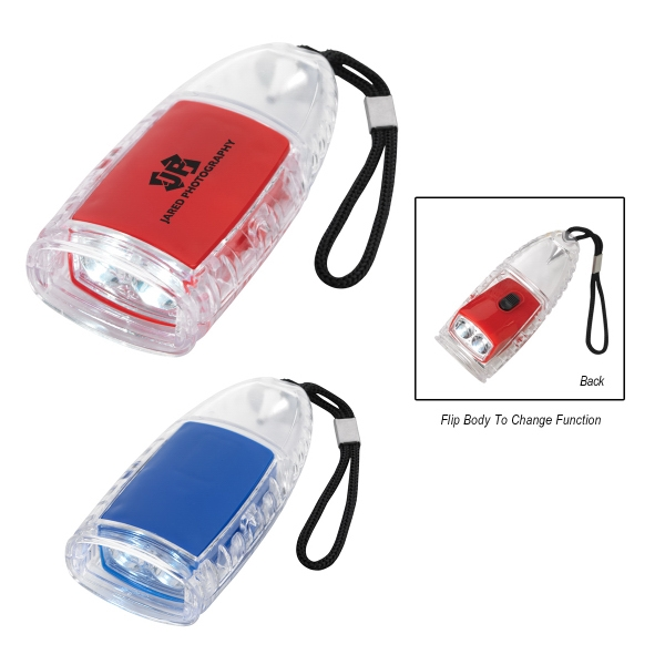 Torpedo LED Lantern Flashlight With Strap
