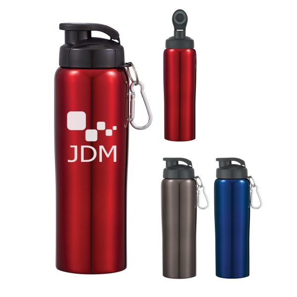 24 oz. Stainless Steel Bike Bottle