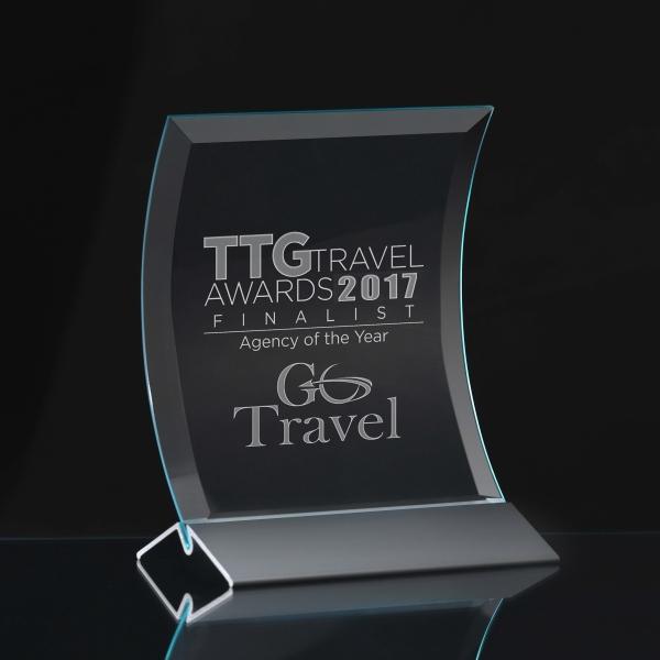 Large Prisma Crest Award