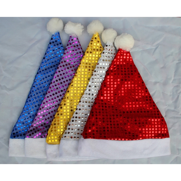 Christmas Sequin Hat