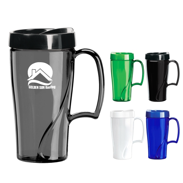 16 Oz. Arrondi (TM) Travel Mug
