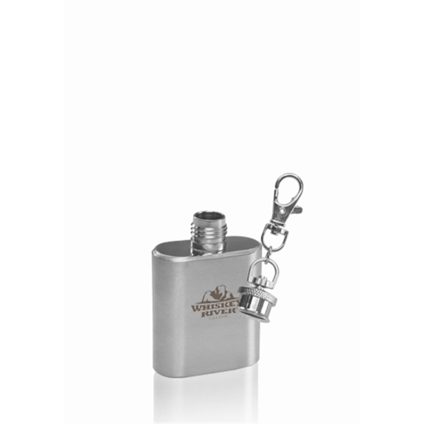 1 oz Azalea Keychain Hip Flask