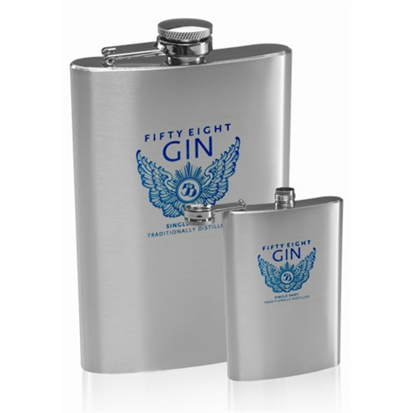 9 oz. Homer Stainless Steel Hip Flask
