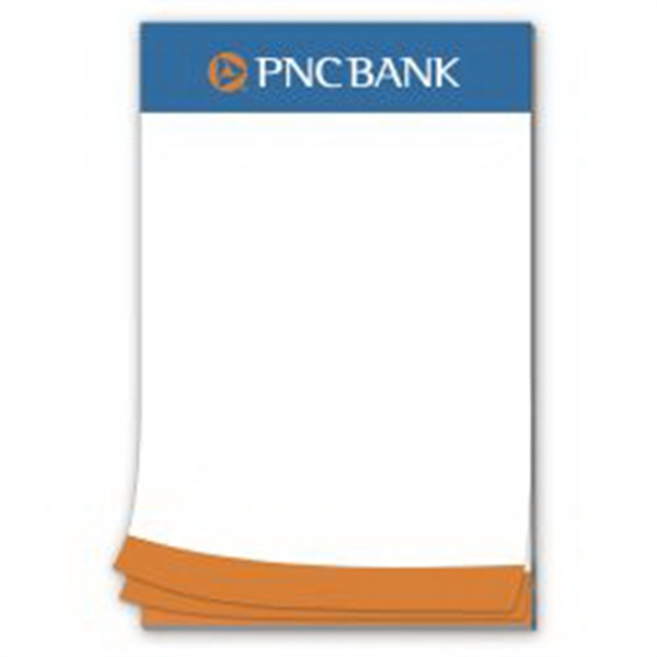 25 Page 5-1/2 x 8-1/2 Paper Note Pad