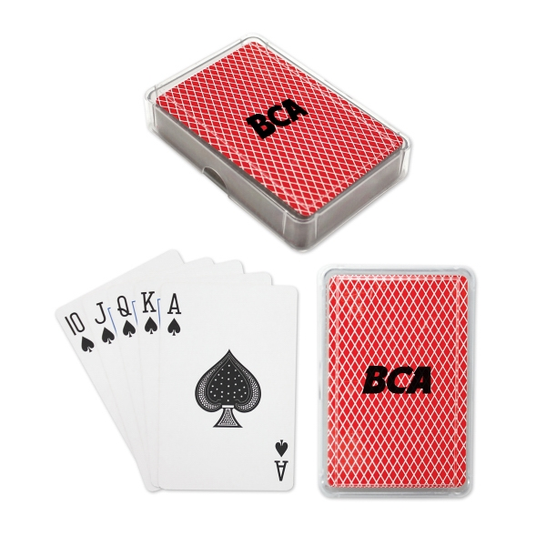 Standard Playing Cards In Plastic Case