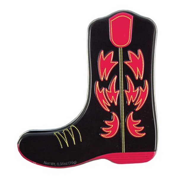 Cowboy Boot Tin Filled with Mints