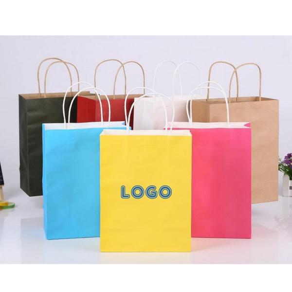 Kraft Paper Shopper Bag