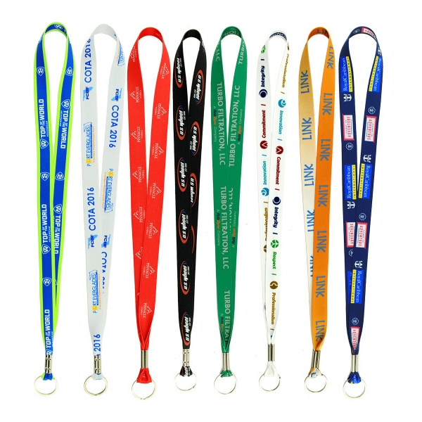"Full Color Imprint Smooth Dye Sublimation Lanyard - 3/4"" ..."