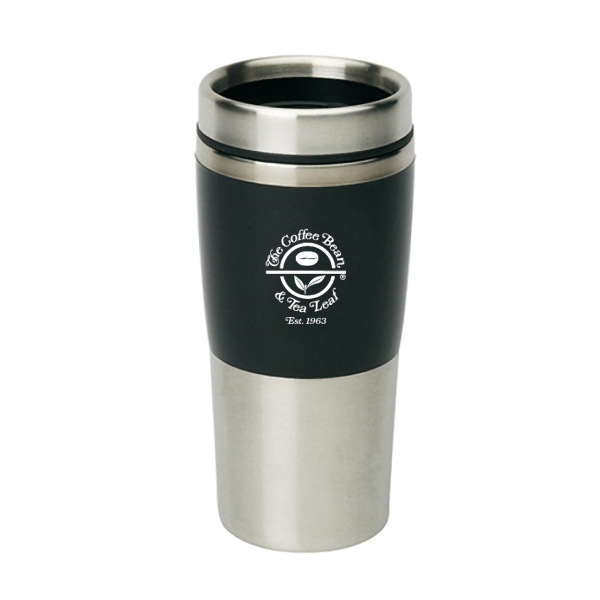 16OZ. COLOR BLOCK STAINLESS STEEL TUMBLER